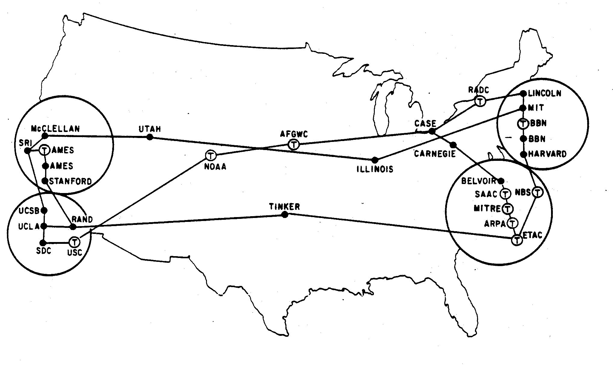 a history of internet in comparison to arpanet Internet history timeline: arpanet to the world wide web in 1961, he wrote about arpanet, the predecessor of the internet, in a paper entitled information flow in large communication nets.